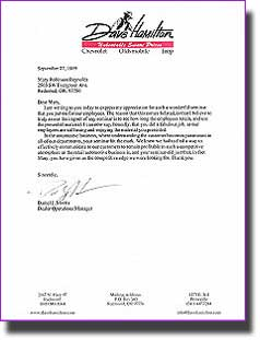LETTER OF FOR SAMPLE EMPLOYMENT RECOMMENDATION